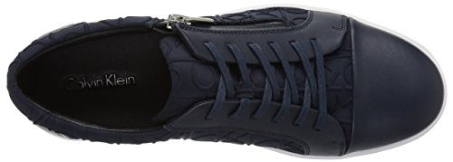 outlet exclusive Calvin Klein Men's Ibrahim Brshd Lthr Fashion Sneaker Dark Navy buy cheap low shipping buy cheap authentic discount largest supplier iM9IB