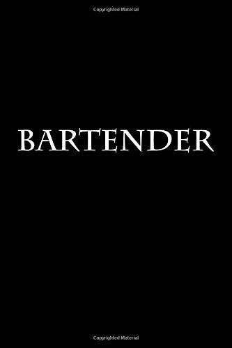 Bartender: Notebook PDF