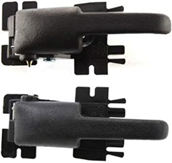 Black Interior Inner Front//Rear Right RH Door Handle For 1995-2001 Ford Explorer