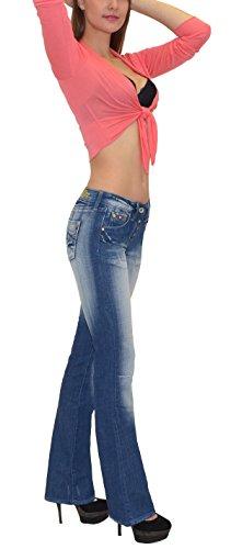 Basse Femme Typ j152 by Jean Femme Jean Taille Pantalon Jean Actuelles AA Designs tex Bootcut en vvZwxq6