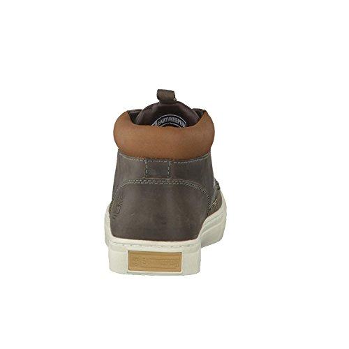 Timberland EK2.0CUPSL CHKA DK OLIVE 5345R - Zapatillas de deporte de cuero nobuck para hombre Oliva oscuro