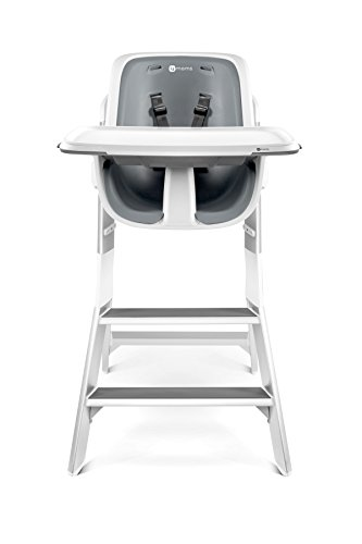4moms high chair - easy to clean with magnetic, one-handed tray attachment
