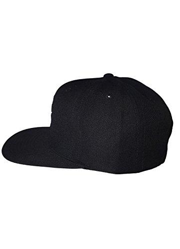 1ef0e35d580 Gym King Signature Designer Summer Flat Peak Snapback Fitted Baseball Cap  Mesh Black Adjustable Sports Fitness Fashion Hat  Amazon.co.uk  Clothing