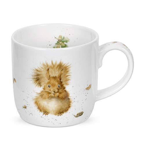 - Wrendale - Treetops Redhead Mug - Squirrel