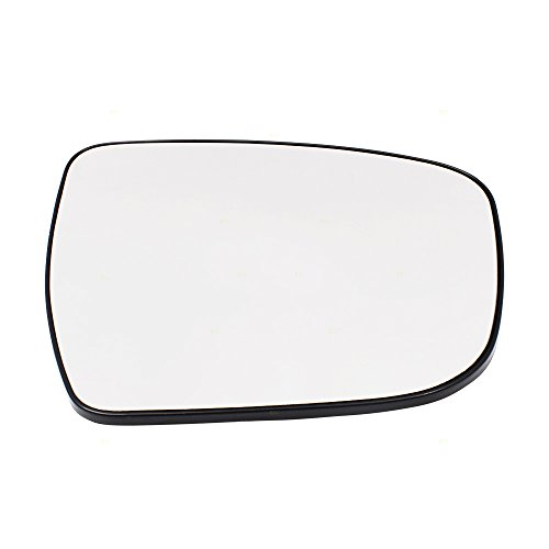 Passengers Side View Mirror Glass & Base Heated Replacement for Nissan Murano Rogue Pathfinder 963654BA1A