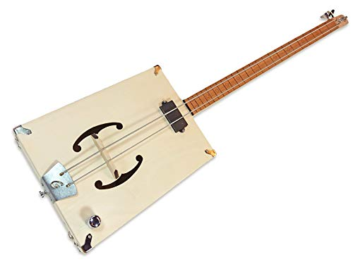 The''G-Bass'' 2-string DIY Electric Bass Guitar Kit - Fretless Style by C. B. Gitty (Image #2)