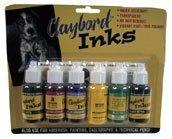 Ampersand Stratchbord Claybord Ink Set of 6 by Ampersand ()