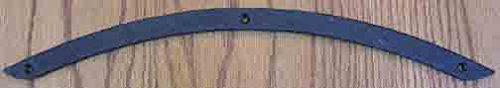 Agave Ironworks - 17'' Iron Arch Dummy Strap - Flat Black