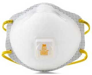 3M OH&ESD 8211 PARTICULATE RESPIRATOR N95 BAG/10