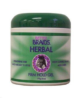 Better Braids Herbal Gel, 6 Ounce