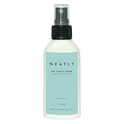 Natural Tea tree facial toner by Neatly I Hydrating & Moisturizing 100 ml I Reduces skin redness and Acne I For all skin types I Natural skin care products (Facial Herbal Toner)