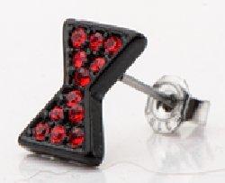 Marvel Black Widow Logo Stud Earrings - Avengers Black Widow Costumes For Sale