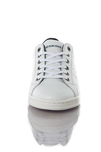 Jean Chaussures Cuir En Soupir Baskets Blanc Redskins YwadAA