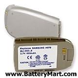 Replacement Battery For Samsung SCH-A670 - LI-ION 900mAh SCHA670