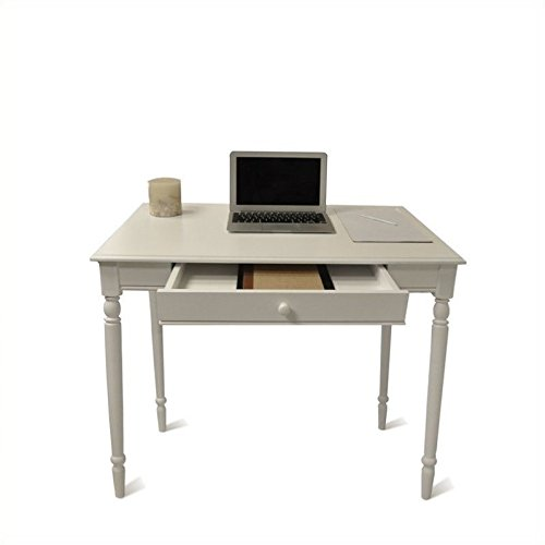 Convenience Concepts French Country Desk, 36-Inch, White (Writing Desk Set Bedroom)