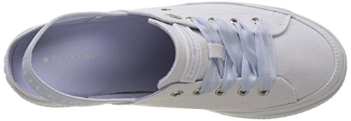 Basses Tommy Flatform Pastel Peony Femme Sling Hilfiger Silver Sneakers Back rYxwIPwnq5