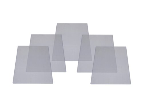 (5) 9 x 12 Topload Holders - Rigid Plastic Sleeves - BCW Brand