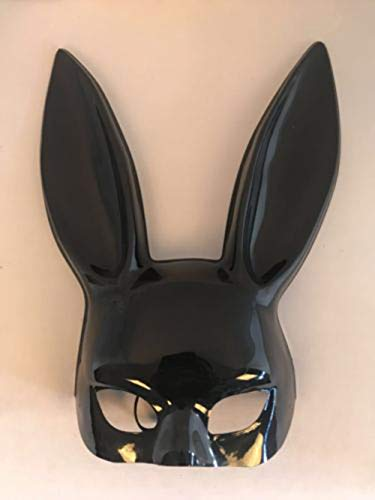 1Pc Halloween Laides Bunny Mask Party Bar Nightclub Costume Rabbit Ears Mask UK AS picture -