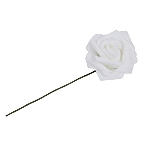 Artificial Flower Orchid - 20pcs Latex Real Touch Flowers Bouquets Rose Bridal Wedding Bouquet Kc1 White - Sunflowers Real Arrangement Roses Leaves Poppy Daisy Stems Gerber Daffodils Mini Green