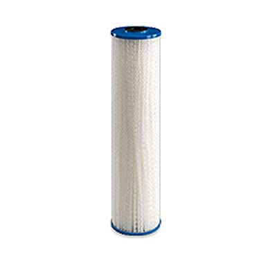 "Baleen Filters 10"" x 2.5"" 1 Micron Pleated Sediment Filter Cartridge Replaces Hydronix SPC-25-1001, Watts FM-1-975, Pentek S1"