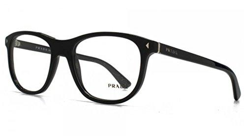Prada Montures de lunettes 17R Pour Homme Black, 54mm 1AB-1O1: Black