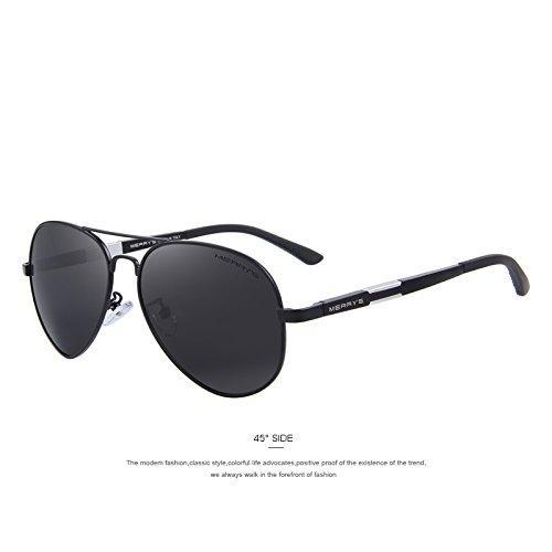 341289c2c5 TIANLIANG04 Los hombres HD gafas de sol polarizadas gafas de sol Guía de  aluminio magnesio Classic