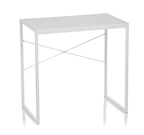 hjh OFFICE Escritorio/Mesa de Ordenador Easy UP Blanco