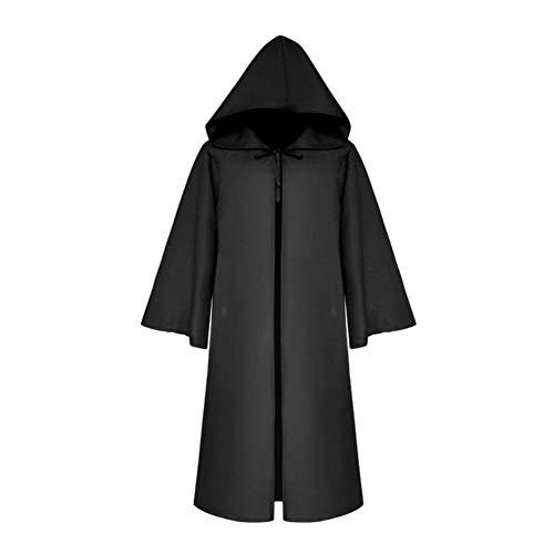 Heilsa Halloween Death Cloak Cosplay Medieval Cape Party Dress Up Capas DIY para Adultos y niños