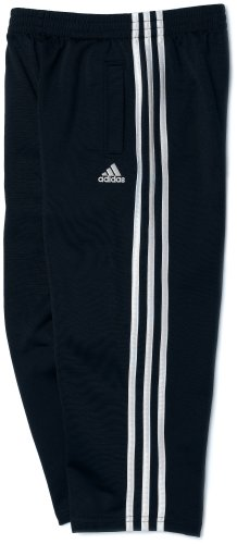 (adidas Toddler Boys' Tricot Pant, Navy, 4)