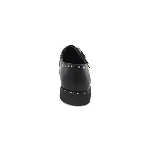 c7d49e60818019 Scarpe da Donna Basse Francesine Inglesine Invernali Modello Simile  Givenchy con Borchie e Fibbia: Amazon.it: Scarpe e borse