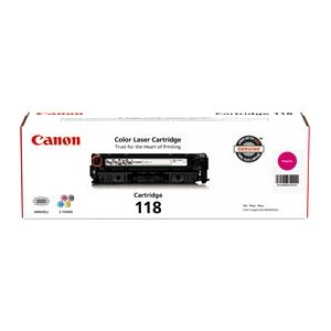 Canon CRG118 Toner Cartridge - Laser - Magenta (Catalog Category: SUPPLIES- LASER PRINTERS AND FAXES)