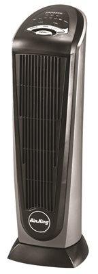 "Air-King 8132C Air King Oscillating Ceramic Tower Portable Heater, 8"" x 23.9"" x 9.2"""