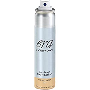ERA Everyday Aerobrush Foundation Makeup, R6 Honey Ginger, 2.25 Ounce