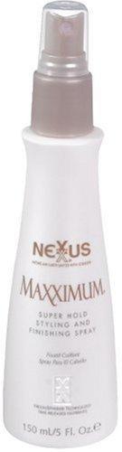 Nexxus Maxximum Super Hold Styling And Finishing Spray, 5 Fl