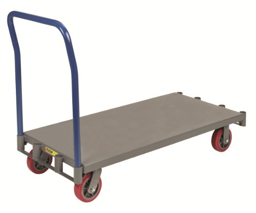 Little Giant APT-2448-6PY Adjustable Sheet and Panel Truck with 6'' Non-marking Polyurethane Wheels, 3600 lbs Capacity, 48'' Length x 24'' Width by Little Giant (Image #4)