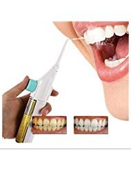 Easyinsmile Portable Power Floss Dental Water Jet Cords Tooth Pick without Batteries-dental Care Oral Irrigator or Air Floss Water Pick