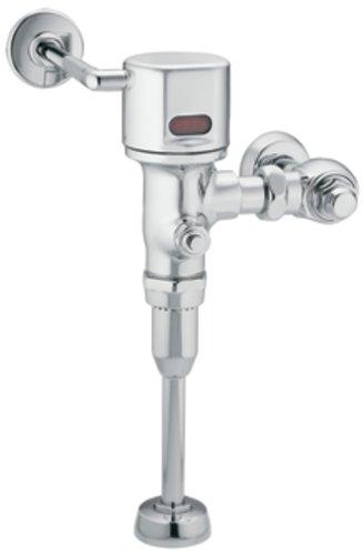 Moen 8315AC05 M-Power 3/4-Inch Urinal AC Powered Exposed Sensor-Operated Electronic Flush Valve .5 gpf, Chrome