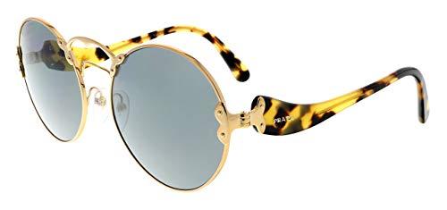 Prada Women's 0PR 55TS Antique Gold/Grey One Size