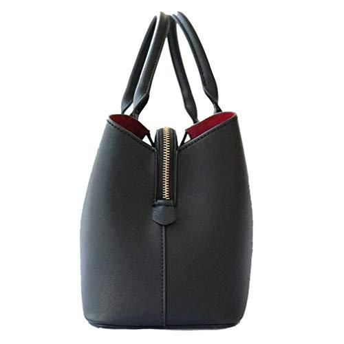 fashionbeautybuy Noir Sac porter à l'épaule Taille Noir femme à unique 77rSp