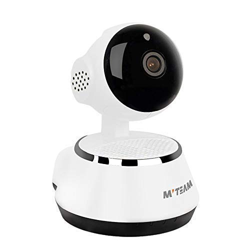 (Home Security Camera, 1024P WiFi Dog Security Camera with Two-Way Audio, Motion Detection, Pan/Tilt, 2.4Ghz IP Surveillance Camera for Baby/Elder/Nanny/Pet Cat Monitoring)