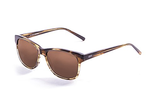 Ocean Sunglasses Taylor Lunettes de Soleil Mixte Adulte, Brown Stained