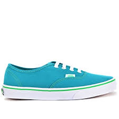 Vans Pop Check Fanfare/Kelly Green Mens 4/Women's 5.5