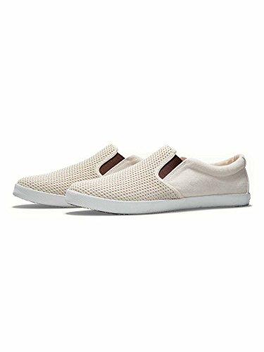 Tommy Bahama Mens Kai Perforated Slip-On Sneaker (14, Light Khaki)
