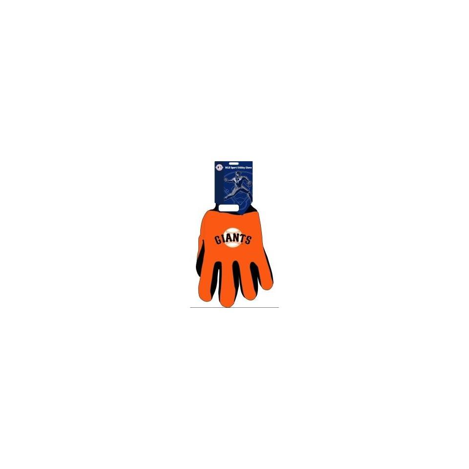San Francisco Giants MLB Two Tone Gloves