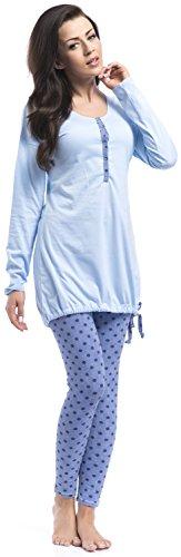 dn-nightwear - Pijama entero - para mujer Rosa