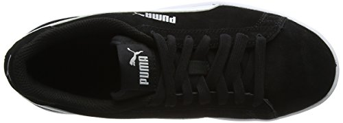 Noir Smash V2 Black White puma Silver puma Adulte Baskets puma Mixte Puma Basses dY4nwqxaZZ