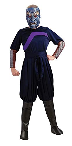 The Last Airbender Child's Deluxe Costume And Mask, Blue Spirit Costume-Small]()
