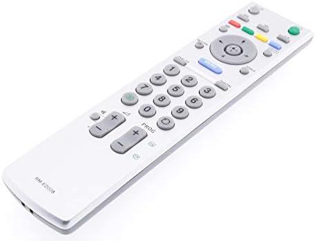 Frompt2y Telecomando di ricambio per televisori LCD TV Sony RM-ED008 [Non richiede configurazione o programmazione – 2 batterie AA incluse]