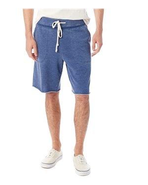 Elastic Shorts Waist Canvas (Alternative Men's Victory Short Navy Small 11)