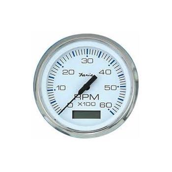 Faria 39004 Kronos Tachometer 6000Rpm